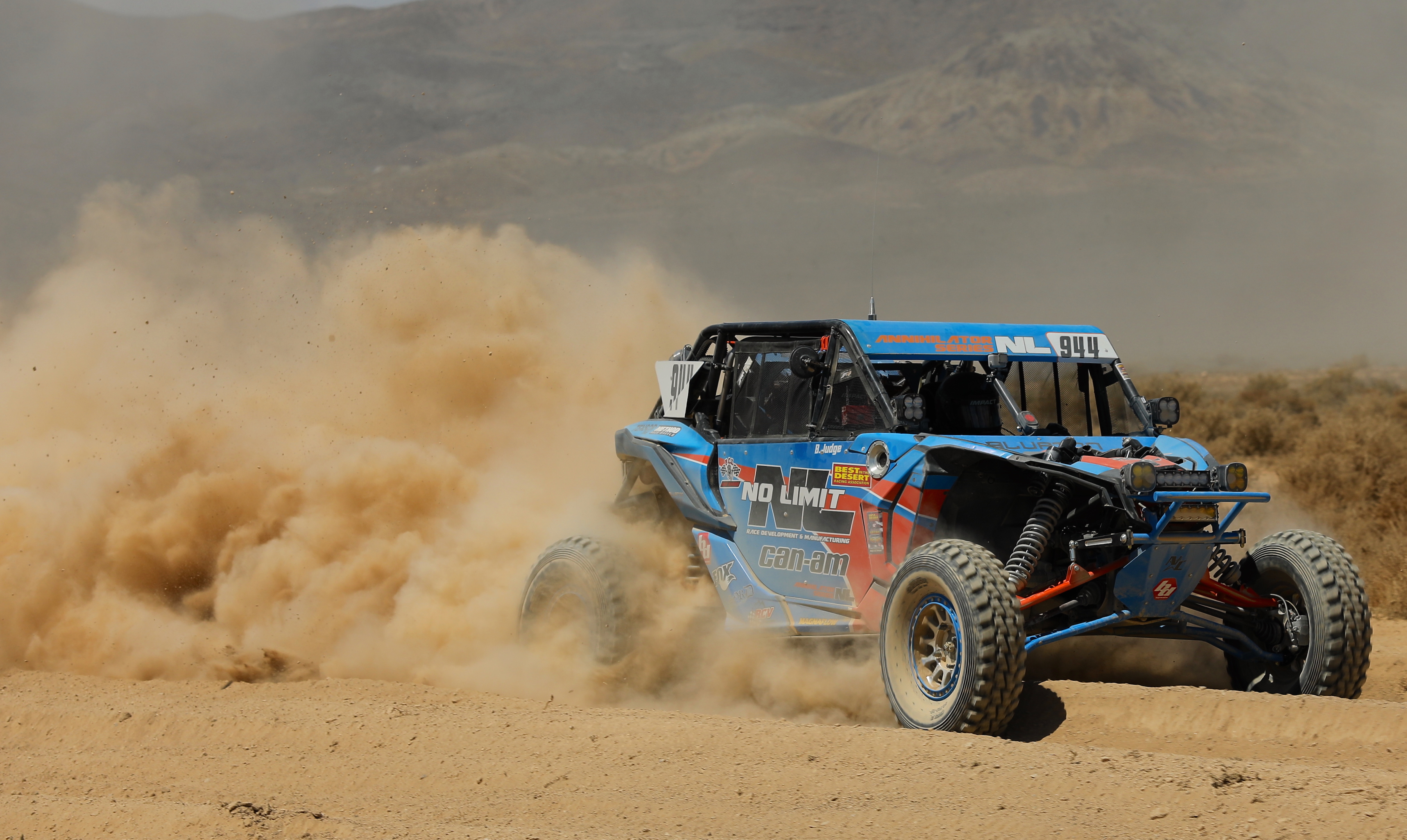 Can-Am Wins Best In the Desert Vegas To Reno