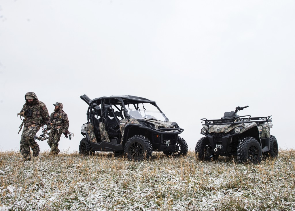 Mossy Oak and BRP to Collaborate on ATV camouflage.