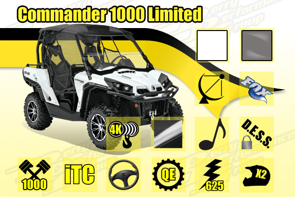 2014 Commander 1000 Limited