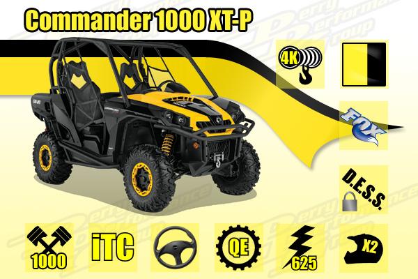 2014 Commander 1000 XT-P