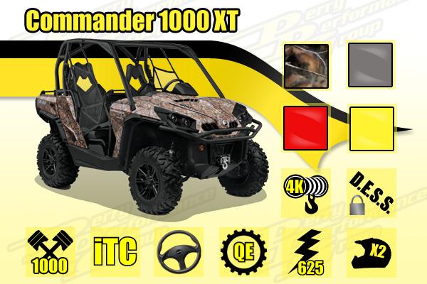 2014 Commander 1000 XT
