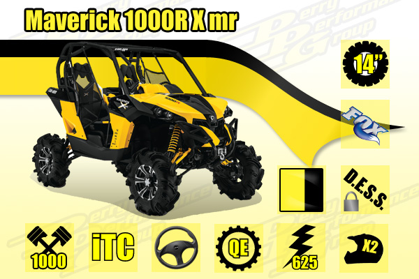 2014 Can-Am Maverick 1000R X mr