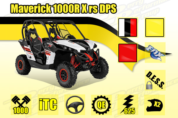 2014 Can-Am Maverick 1000R X rs DPS