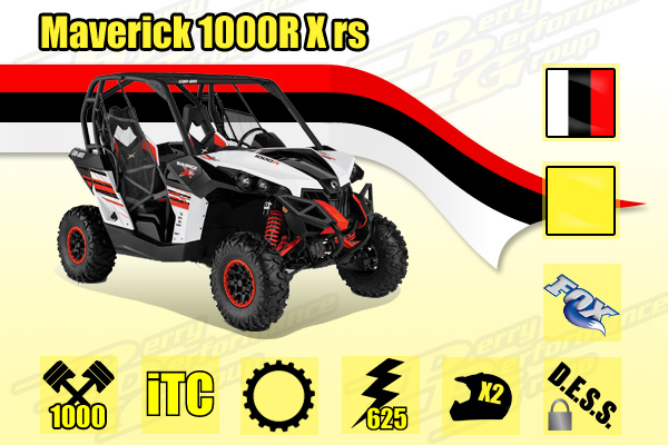 2014 Maverick 1000R X rs