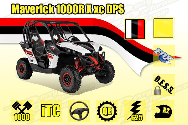 2014 Maverick MAX 1000R X xc
