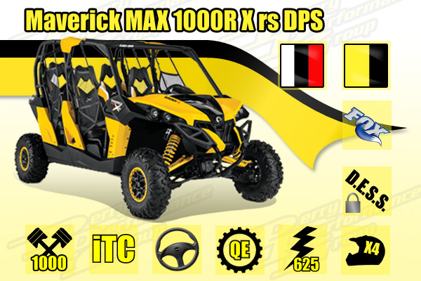 2014 Maverick MAX 1000R X rs