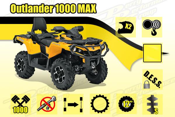 2014 Outlander MAX 1000
