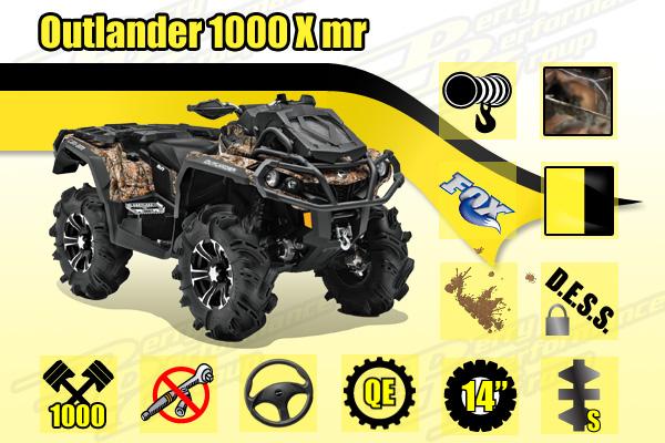 2014 Outlander 1000 X mr