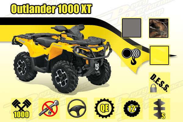 2014 Outlander 1000 XT