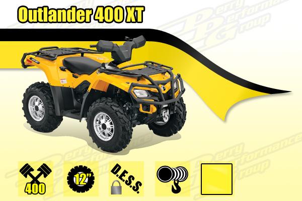 2014 Outlander 400 XT