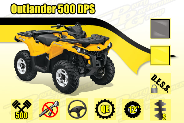 2014 Can-Am Outlander 500 DPS