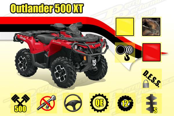 2014 Outlander 500 XT