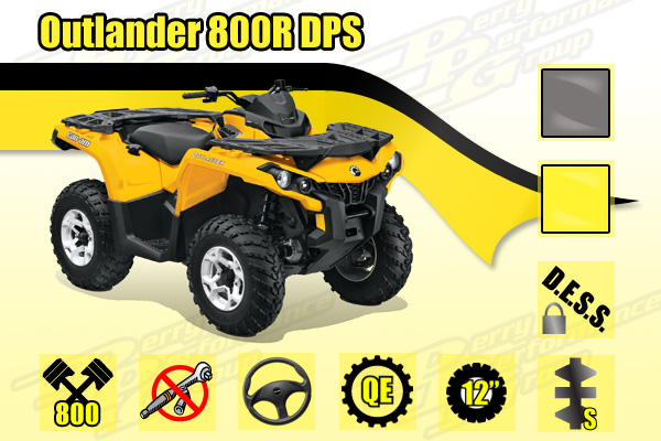 Outlander 800R DPS