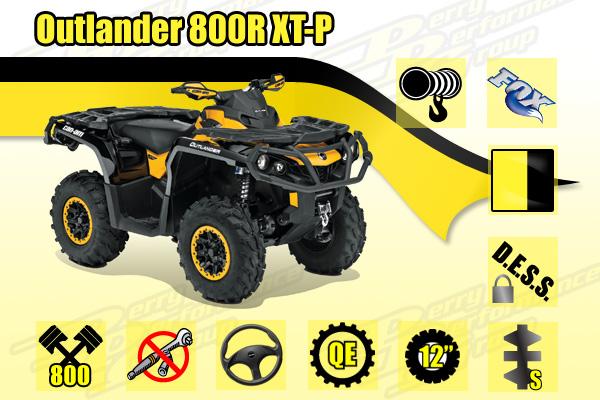 2014 Outlander 800R XT-P