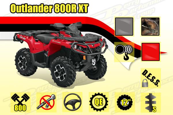 2014 Outlander 800R XT