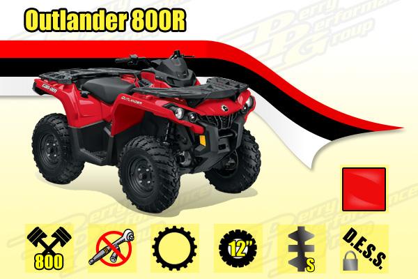 2014 Outlander  800R