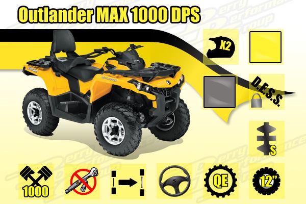 2014 Outlander MAX 1000 DPS