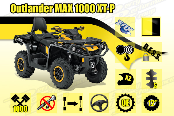 2014 Outlander MAX 1000 XT-P