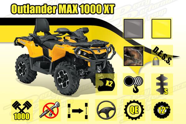 2014 Outlander MAX 1000 XT