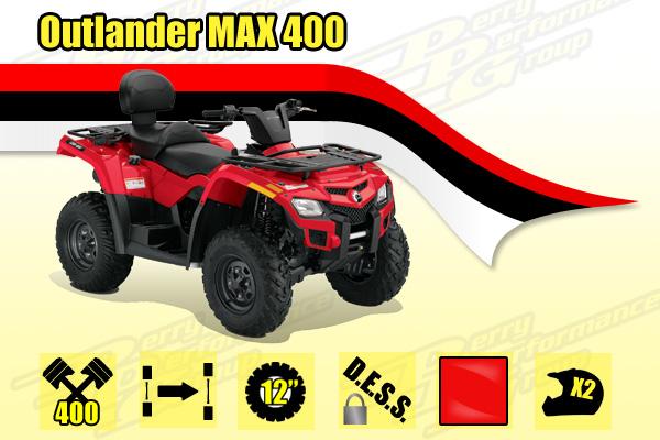 2014 Outlander MAX 400