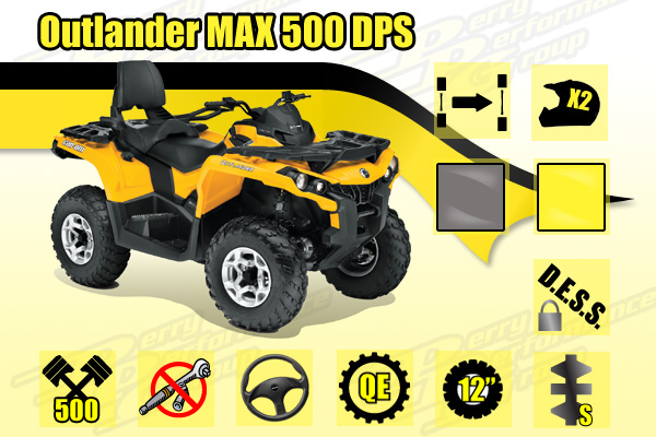 2014 Can-Am Outlander MAX 500 DPS