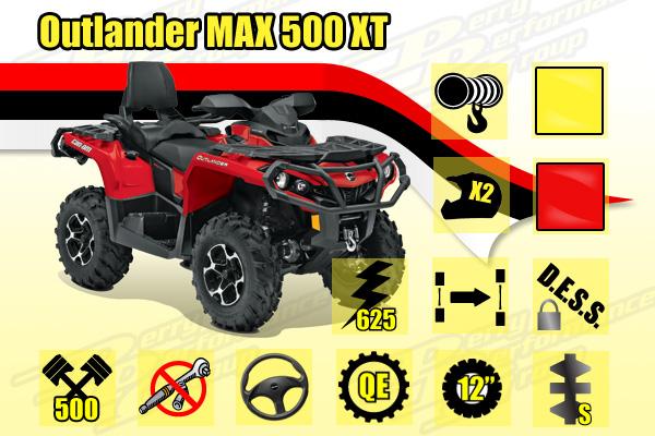 2014 Outlander MAX 500 XT