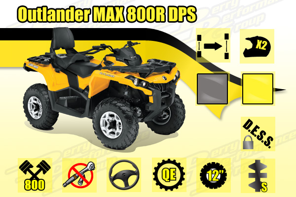2014 Can-Am Outlander MAX 800R DPS