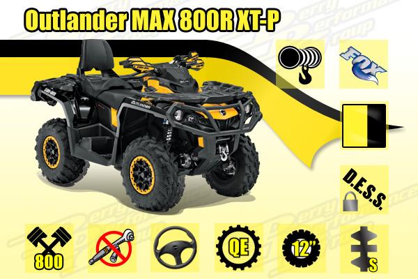 2014 Outlander MAX 800R XT-P