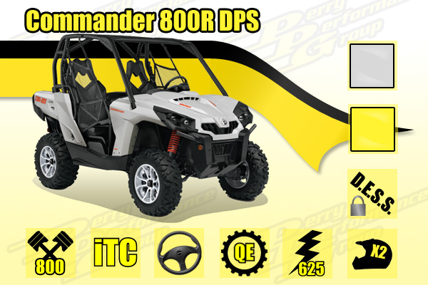 2015 Can-Am Commander 800R DPS SxS