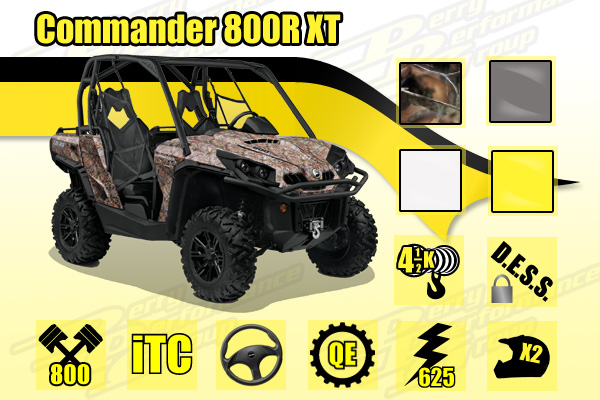 2015 Can-Am Commander 800R XT SxS