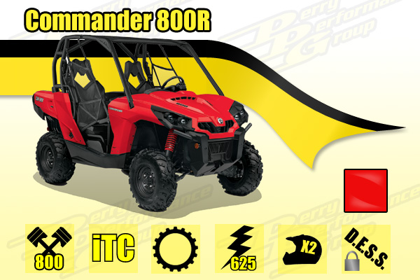 2015 Can-Am Commander 800R SxS