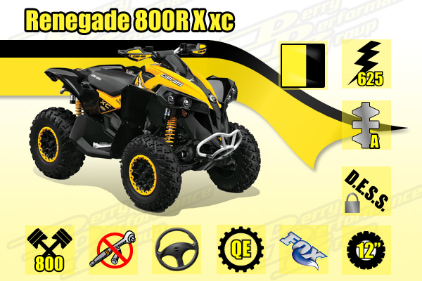2015 Can-Am Renegade 800R X xc
