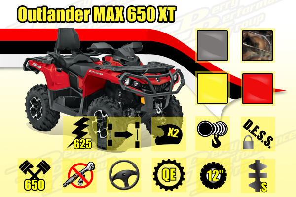 Outlander Max 650 XT