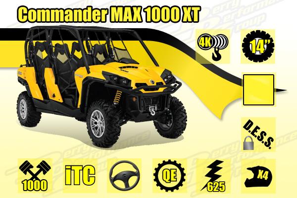 2014 Can-Am Commander MAX 1000 XT