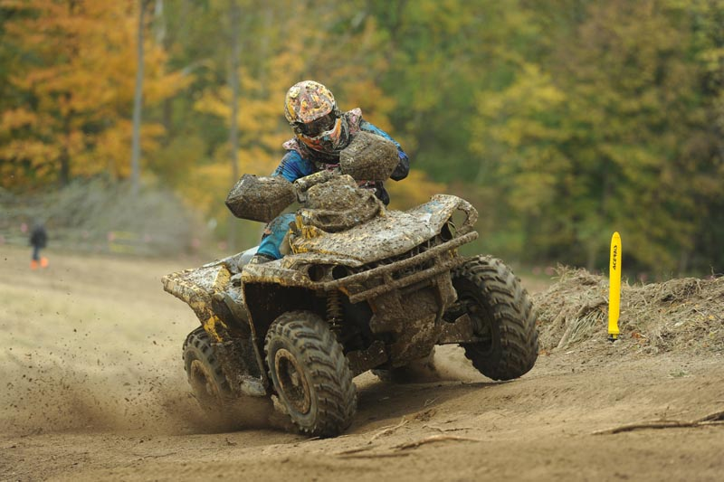 Outlander 800R 4x4 racer Bryan Buckhannon (ATV Parts Plus / Can-Am) added another GNCC championship to his trophy case, by going a perfect 13-0 and winning the 2013 4x4 Open class.