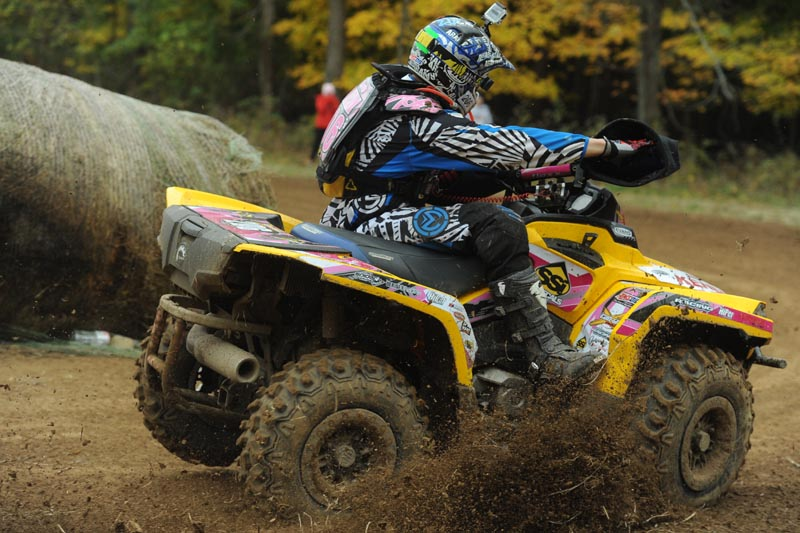 Kevin Trantham, who reached the 4x4 overall podium, proved you can be very fast on the smaller displacement Outlander 500 4x4 ATV by winning his 12th 4x4 Lites race in a row and the class championship.