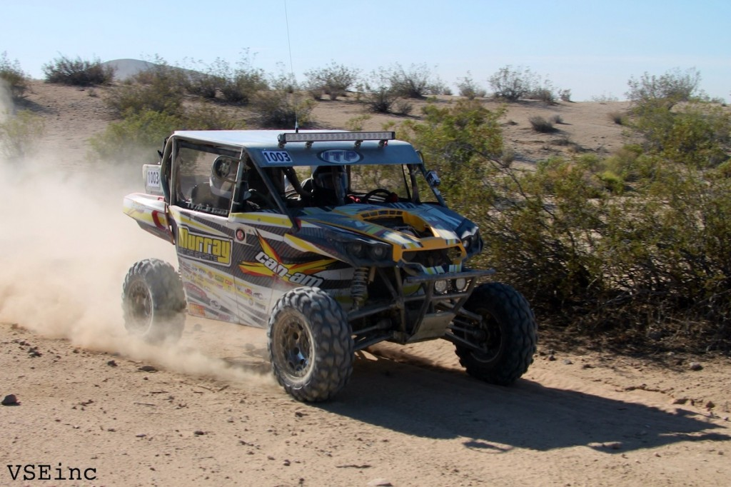 Aaron Juarez finished second at the DWT Pure 400 event and also took second in the SxS Pro Production 1000 class in his Murray Racing / Can-Am Commander.