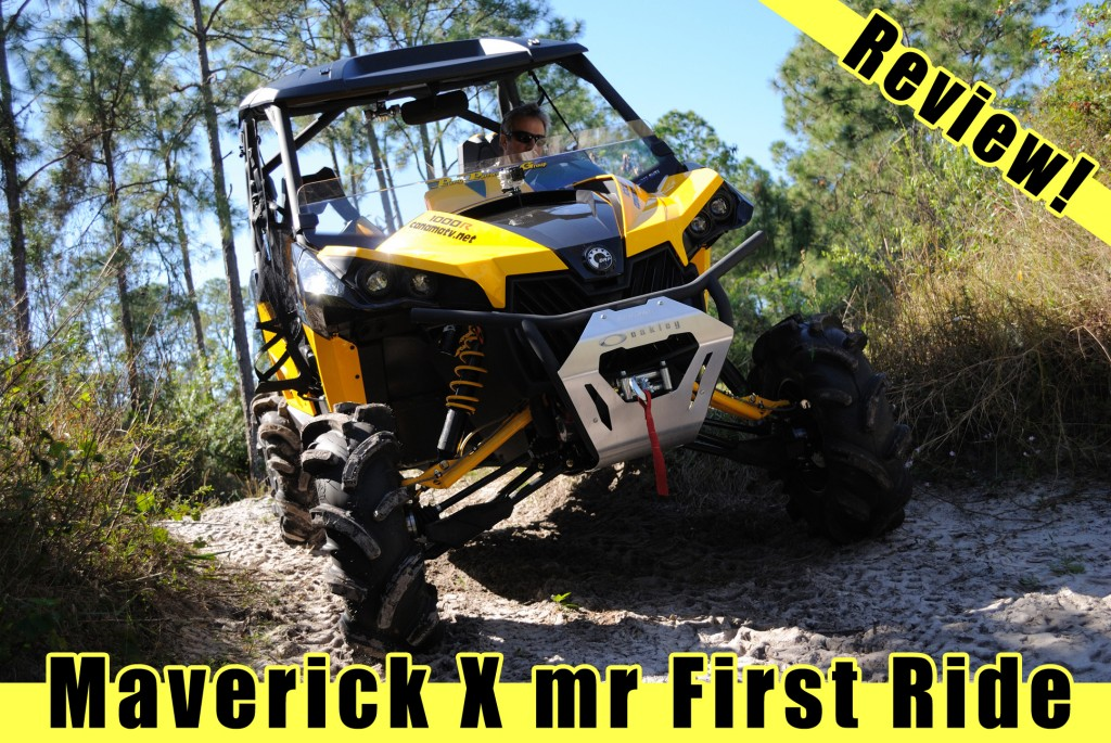 Maverick X mr Review, first ride!
