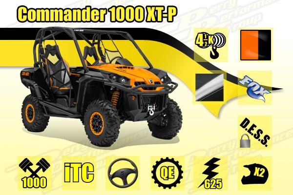 2015 Commander 1000 XT-P SxS
