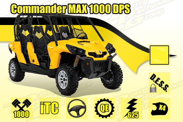 2015 Commander MAX 1000 DPS SxS