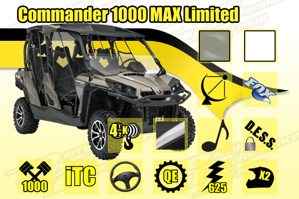 2014 Commander 1000 MAX Limited