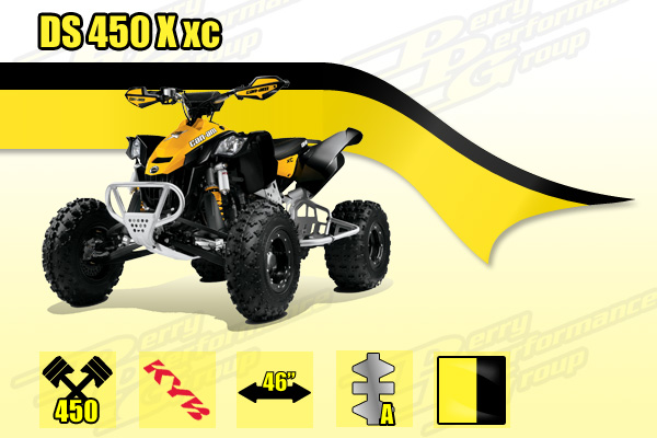 2015 Can-Am DS 450 X xc ATV