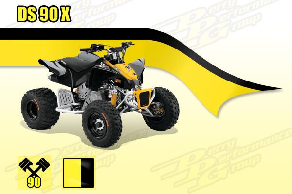 Can-Am DS 90 X Youth ATV
