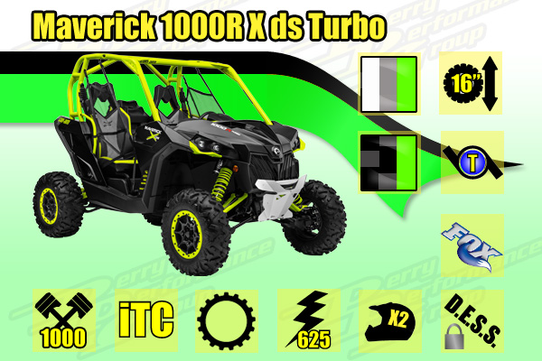 2015 Maverick 1000R X ds Turbo