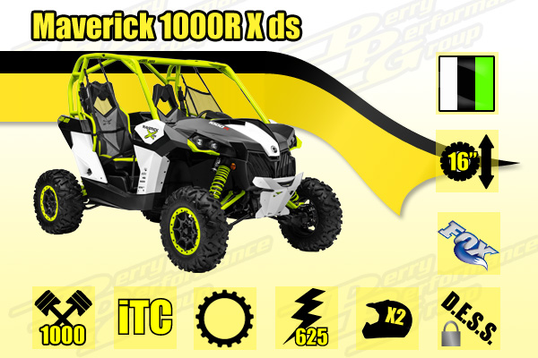 2015 Maverick 1000R X ds