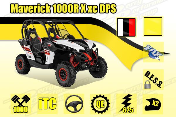 2015 Can-Am Maverick 1000R X xc DPS
