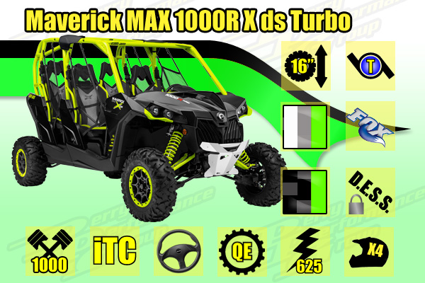 2015 Maverick MAX 1000R X ds Turbo