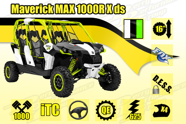2015 Maverick MAX 1000R X ds