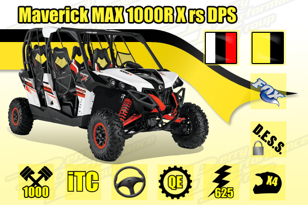 2015 Can-Am Maverick MAX 1000R X rs