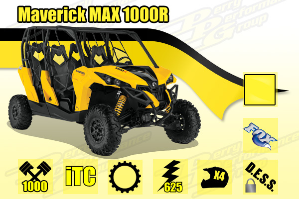 2015 Can-Am Maverick MAX 1000R
